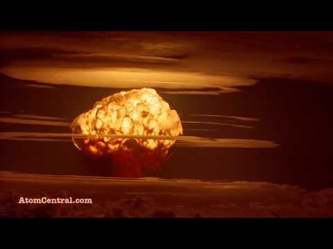 """This is a clip of the Castle Bravo nuclear test detonated February 8, 1954 at Bikini Atoll in the Pacific Proving Ground. Castle Bravo at 15 Megatons (MT) was the largest nuclear test conducted by the United States. Used in """"Trinity and Beyond"""" and """"Atomic Filmmakers."""""""