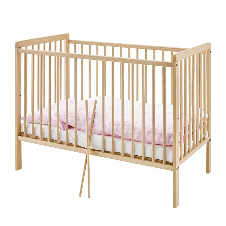 Babybett Hanna - Holzfarben
