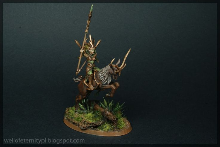 Warhammer Age of Sigmar | Wanderers / Wood Elves | Sisters of the Thorn http://wellofeternitypl.blogspot.com #warhammer #ageofsigmar #aos #sigmar #wh #whfb #gw #gamesworkshop #wellofeternity #miniatures #wargaming #hobby #fantasy