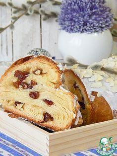 Цюрихский венок из смешанного теста - кулинарный рецепт