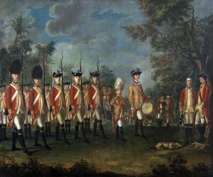25th Regiment of Foot, Menorca, 1771 (c) attributed to Giuseppe Chiesa