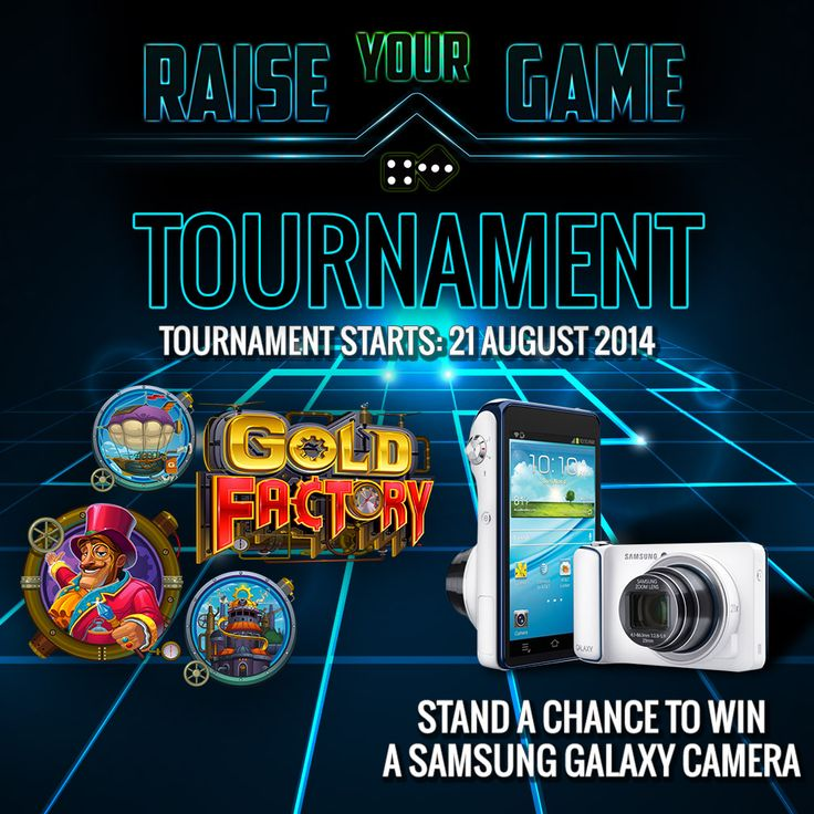 We've got something to take your week to new heights! Enter the Raise Your Game Tournament 3 for a share of €750 + €200 Amazon Voucher in the weekly draw.