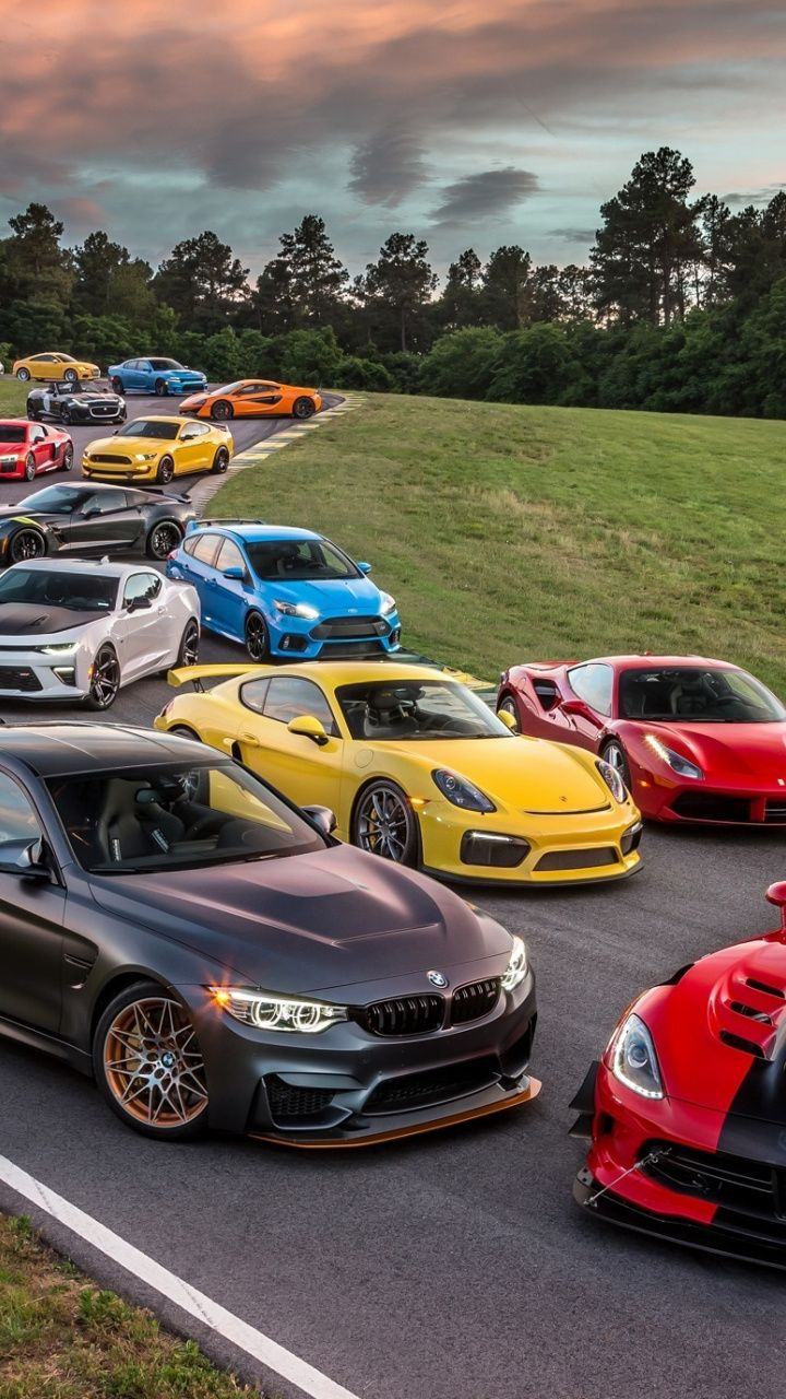 Cars Sports And Luxury Vehicle Collection 720x1280 Wallpaper