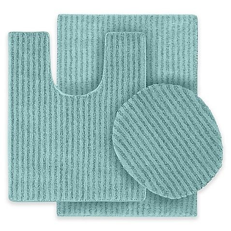 Garland Rug Sheridan Sea Foam 21 In Washable Bathroom
