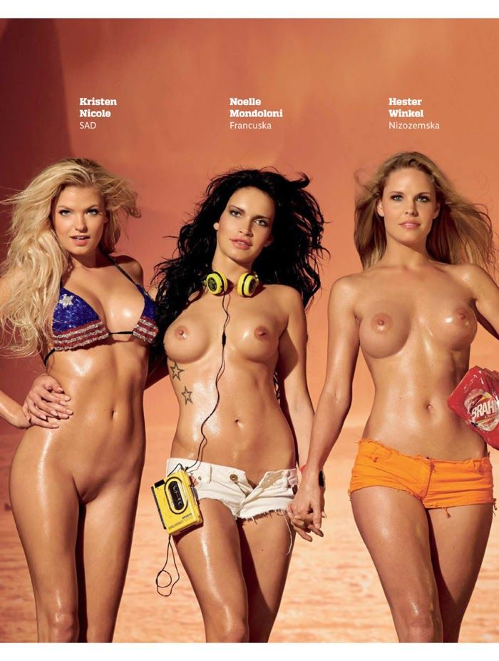 Playboy del equipo de bikini sueco