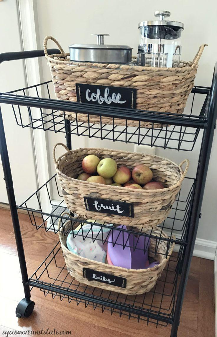 Best 25 Rolling kitchen cart ideas on Pinterest Kitchen trolley