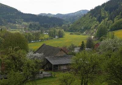 Dřevěná lávka ve Švařci | Turistický portál Bystřicka