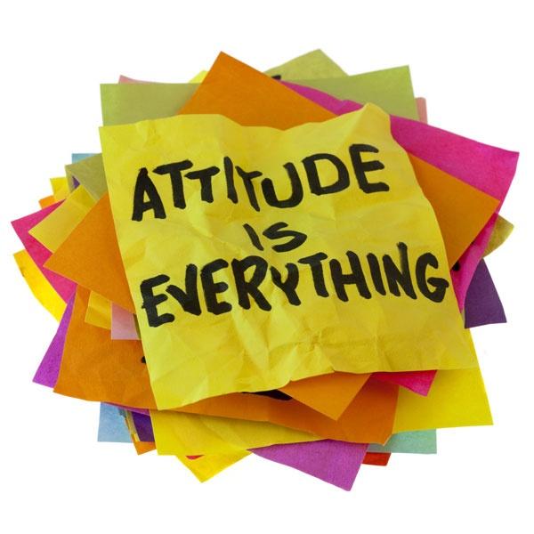Attitude is everything// La actitud lo es todo.