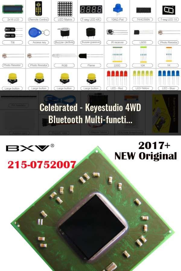 Keyestudio 4WD Bluetooth Multi-functional DIY Smart Car For