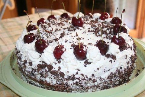 ------------  Cucino e Racconto------------: Torta Foresta Nera(Germania)
