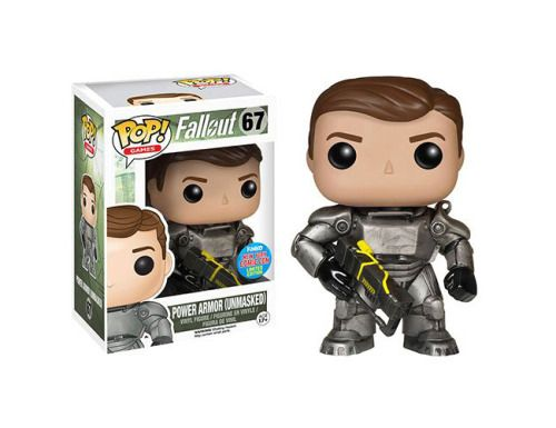 Funkos BoS EXCLUSIVE Vinyl Figure (Unmasked)  Sold at 2015 NYCC (New York Comic Con).  Ships only to US. $40 with free shipping.  fallout fallout bos brotherhood of steel fallout pop fallout vinyl fallout funko fallout figurine fallout figurines nycc nycc2015