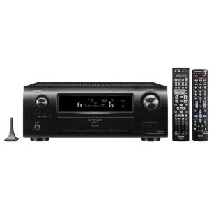 Our Denon receiver does everything we want and more