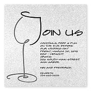 13 best retirement party wine themed images on pinterest wedding rehearsal dinner invitations join us this clever illustration uses a j to stopboris Image collections