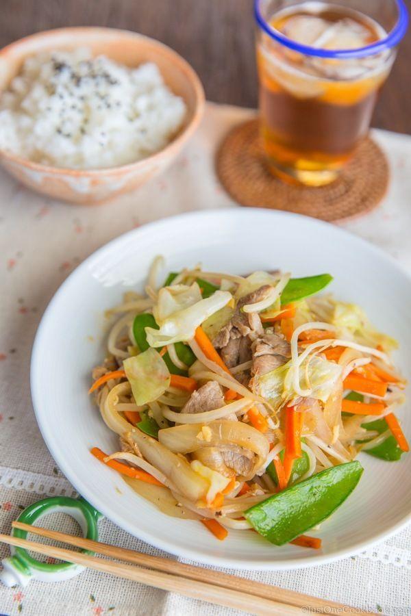 Stir Fry Vegetables   Easy Japanese Recipes at JustOneCookbook.com