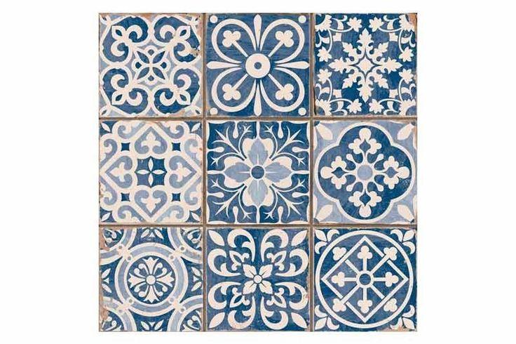 Tangier blue tons of tiles