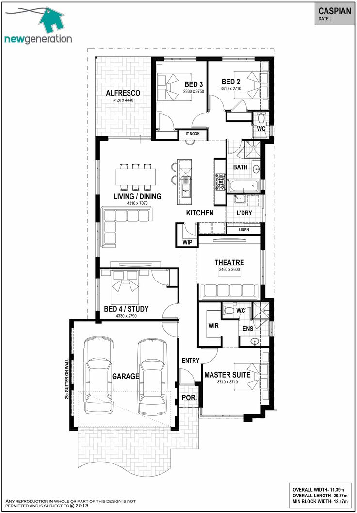 7 best House Plans - 12.5m images on Pinterest | House design ...