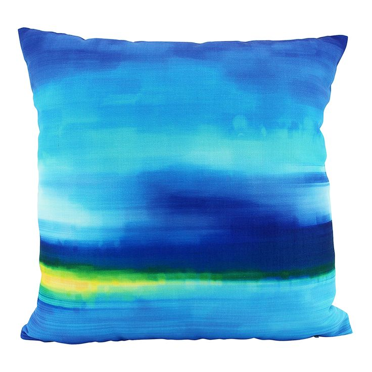 Mirage Cushion Cover | Blue | 45x45cm by Cushions & Ceramics on THEHOME.COM.AU