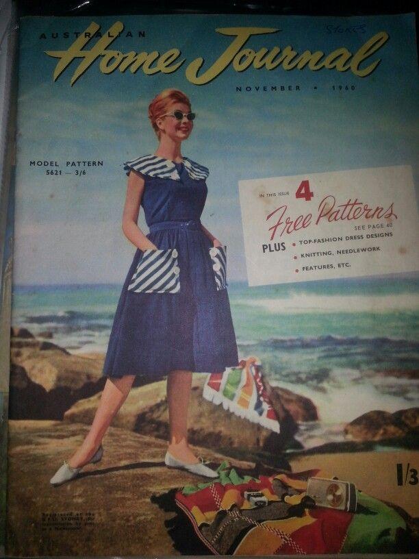 Australian home journal November 1960 cover