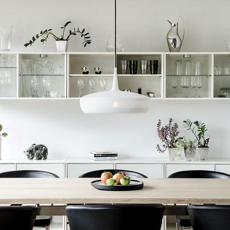 Vita Clava Dine Ceiling Pendant Shade - White