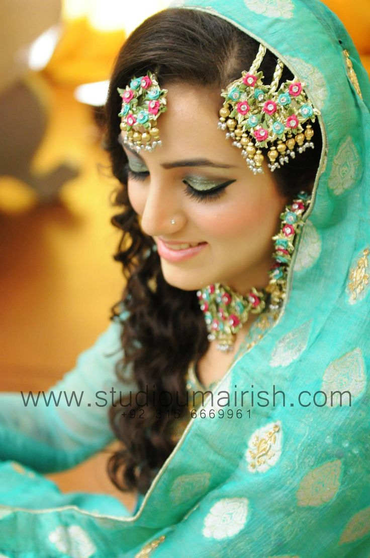 Mehndi bride, umairish studio photography