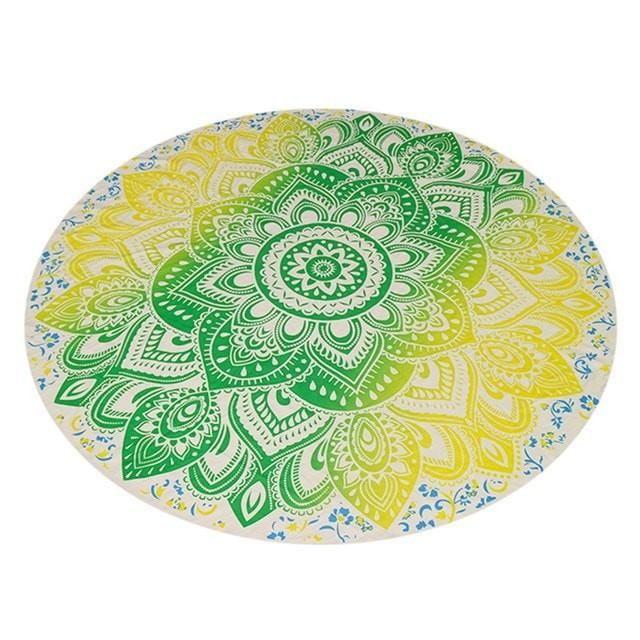 Pretty Large 150-CM Chiffon Boho-Print Beach Scarf 3 Colors