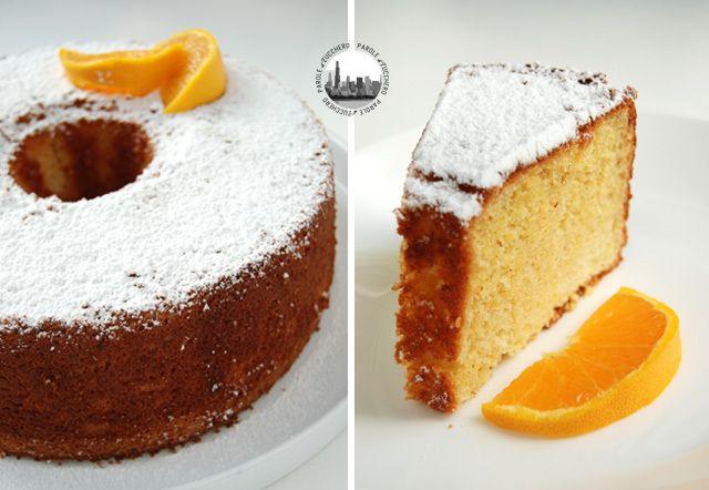 Softest Orange Chiffon Cake! La piu' Morbida Torta Chiffon all'Arancia!