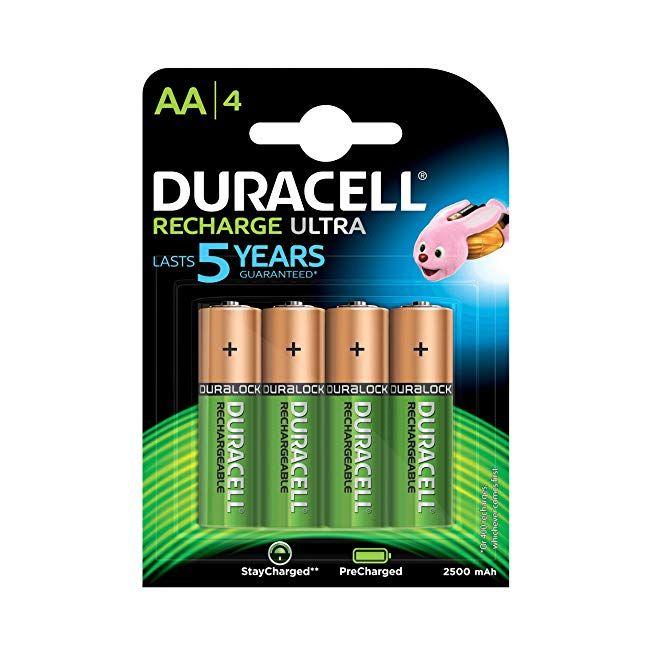 Tech Gadgets Duracell Recharge Ultra Type Aa Battery 2500mah Pack Of 4 Technology Bestseller Amazon Electronics Duracell Tech Toys Gadgets