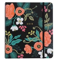 Rifle Paper Co. 2016 Planners, available to pre-order now at Northlight