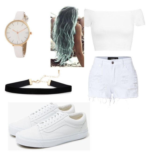"""Happy Holi"" by eduardacardosogassen on Polyvore featuring Alice + Olivia, LE3NO and Vans"