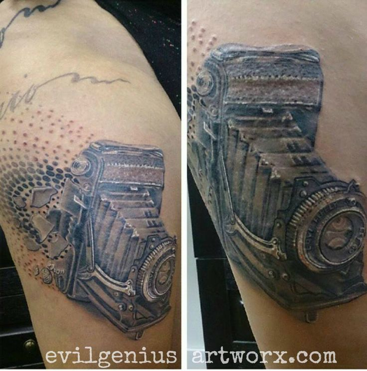 Tattoo Designs Camera: Top 25 Ideas About Vintage Camera Tattoos On Pinterest