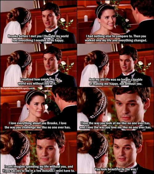 I used to be a Brucas fan, but Julian's vows are .... ♥♥♥
