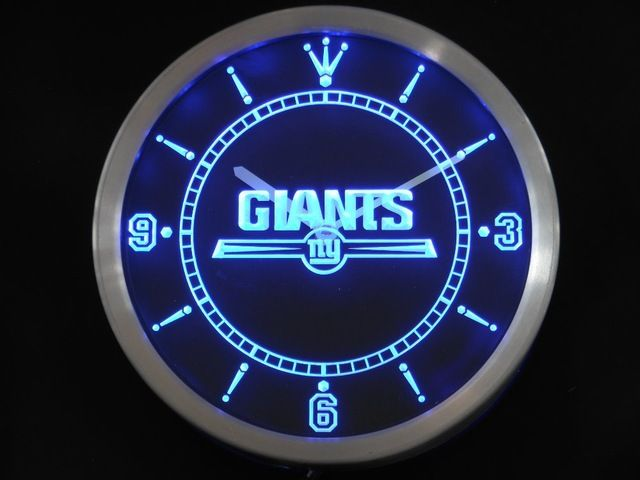 Check it on our site nc0510 New York Giants Neon Sign LED Wall Clock just only $36.99 with free shipping worldwide  #clocks Plese click on picture to see our special price for you