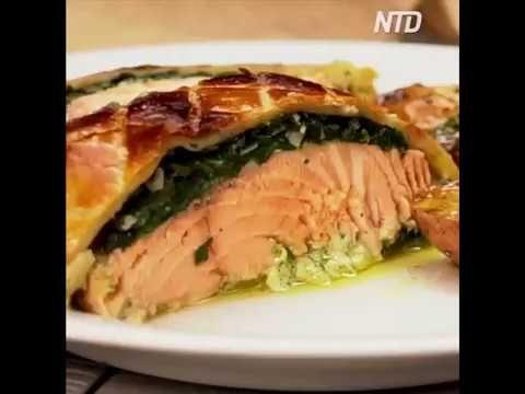 NTD Taste Life : Puff Pastry Salmon - I will definitely gonna make this... yummy - YouTube