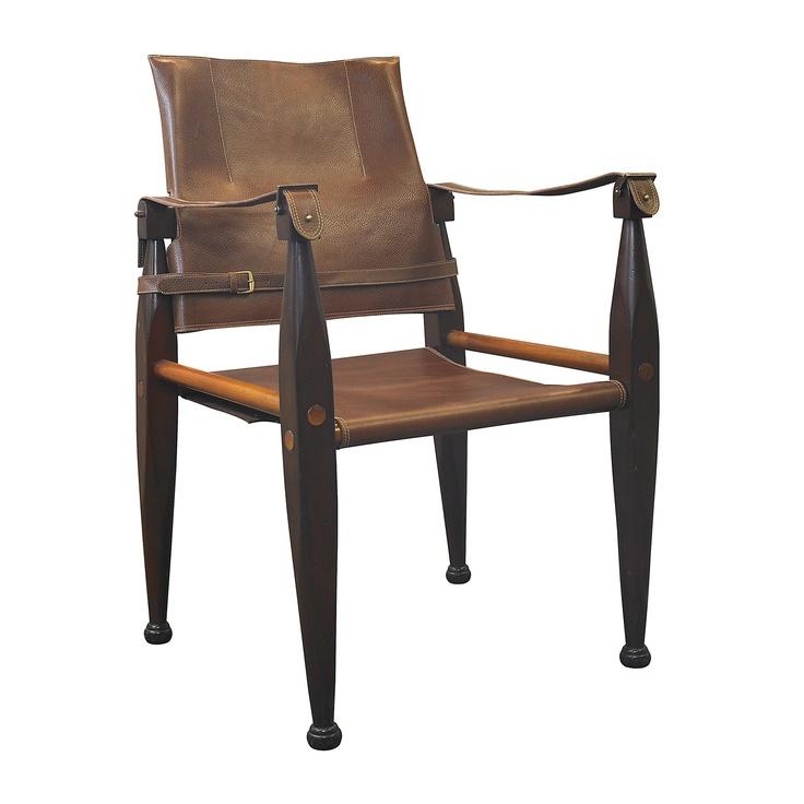 Authentic Models Colonial Safari Chair   Safari Style
