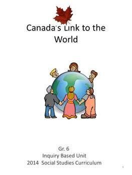 This product is based on the New Ontario Social Studies Curriculum for Grade 6.  Your students will be engaged as they research world issues and how Canada and its people help people of other countries.  This unit includes student worksheets, lesson plans, video suggestions, a list of student web sites and work cited blackline masters.