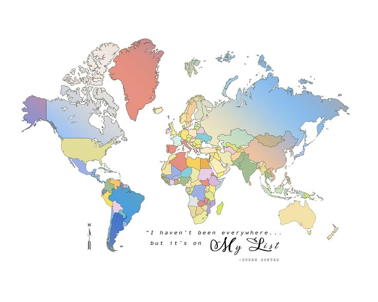 14 best world maps images on pinterest country etsy and rural area 11x14 digital watercolor bucket list world map print by kokuadesigncompany on gumiabroncs Image collections
