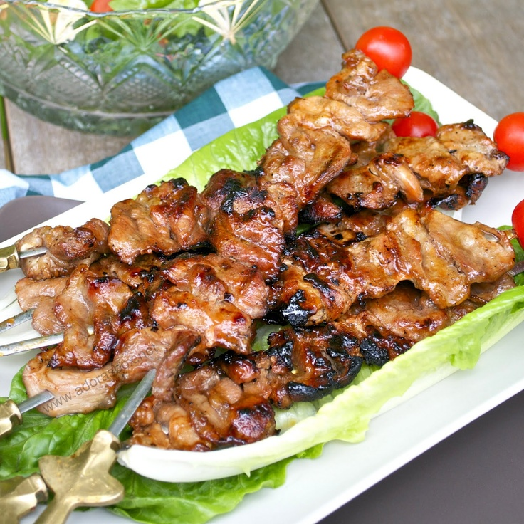 bbq skewers skewers recipes recipes pork foods recipes dish recipes ...