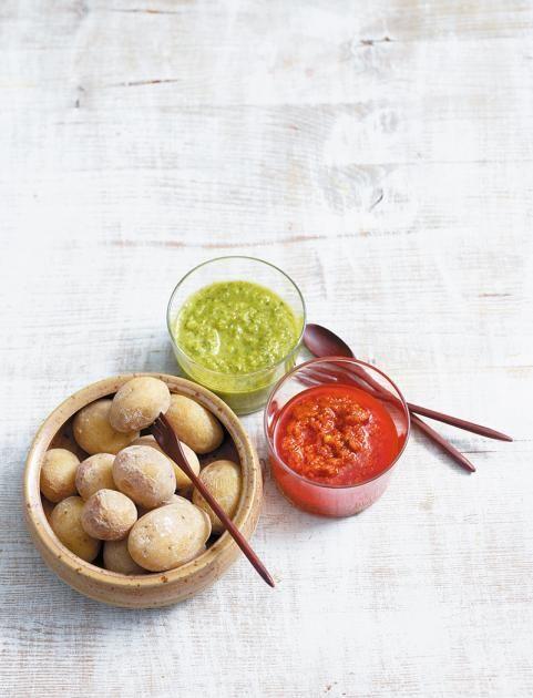 Papas arrugadas – Kartoffeln mit Salzkruste Rezept - [ESSEN UND TRINKEN]