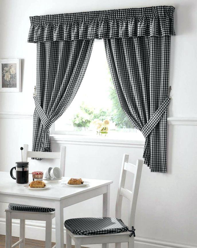 Diy Volant Ideas   Kitchen curtains, White kitchen ...