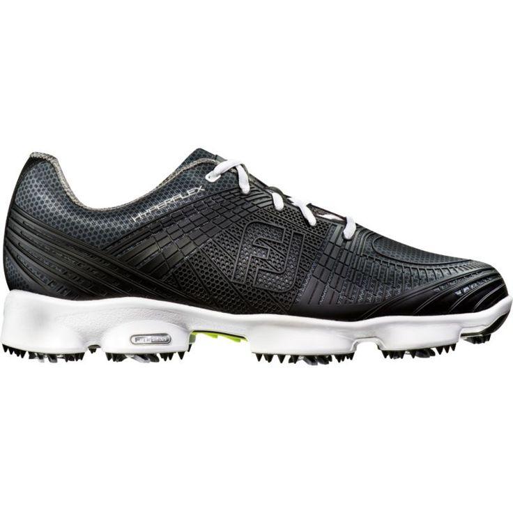 FootJoy HyperFlex II Golf Shoes, Men's, Size: 8.0EXTRA WIDE, Black