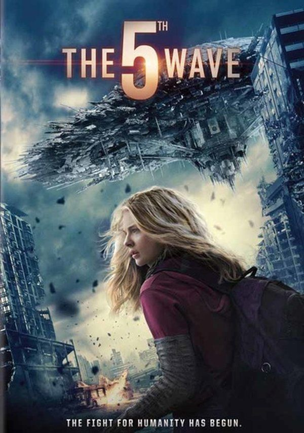 The 5th Wave DVD (2016) Starring Liev Schreiber, Ron Livingston, Maria Bello & Chloë Grace Moretz; Directed by J Blakeson; Starring Maggie Siff, Maika Monroe, Nick Robinson & Alex Roe; Sony Pictures $24.29 on OLDIES.com
