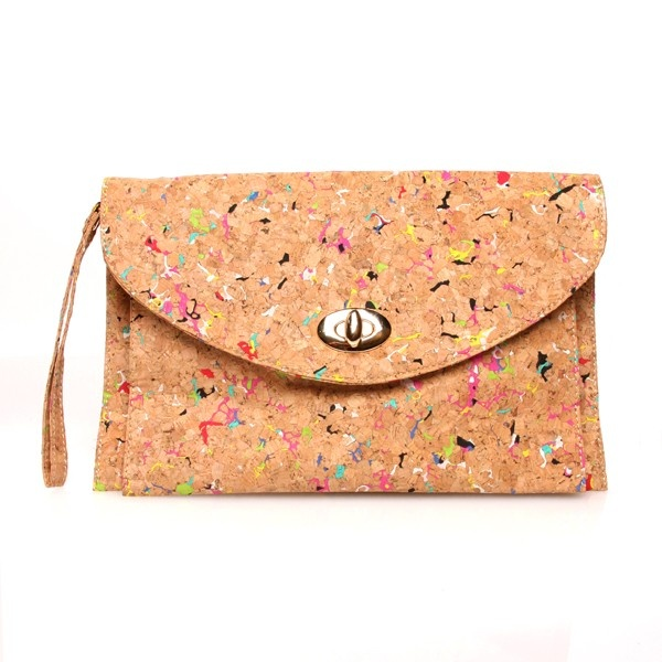 Corkboard Rectangle Purse