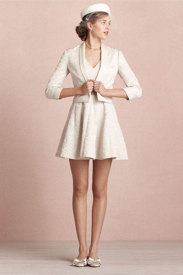 617 best Short Wedding Dresses images on Pinterest | Bridal gowns ...