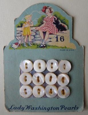 lady washington pearls