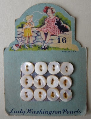 lady washington pearls x: Vintage Buttons, Buttons Buttons, Cards Lady, Washington Pearls, Pearls Buttons, Lady Washington, Pearls Vintage, Vintage Cards, Buttons Cards Repin