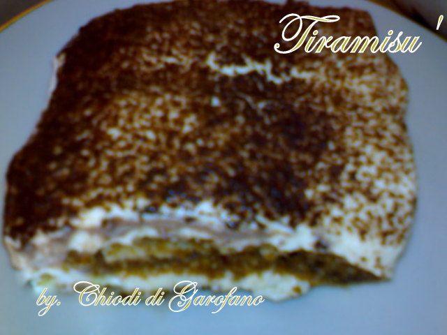 Il classico Tiramisu' http://blog.giallozafferano.it/chiodidigarofano/classico-tiramisu