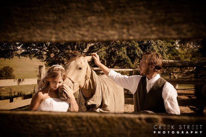 Maddy & Jack's - vintage country wedding #vintage #wedding #countrywedding #rusticwedding #horse