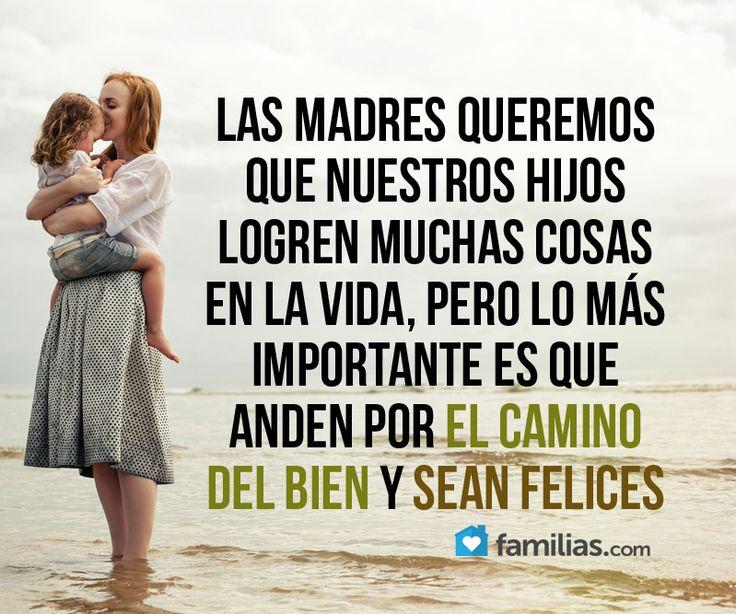 Lo importante es que tus hijos sean buenos y felices