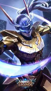 Image result for mobile legends saber golden warrior