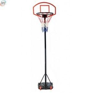 Standalone Basketball kurvsett med justerbar høyde 165 - 205cm